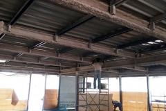 Brescia - Asilo Nido Tre Torri:  struttura metallica protetta con intonaco ignifugo