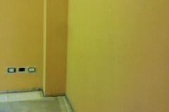 Desenzano - Studio dentistico:  parete affetta da risalite di umidità