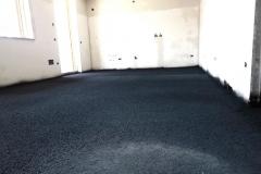 Gessate - Casa privata: tappeto anticalpestio in strato uniforme
